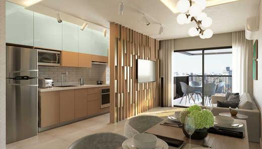 Living 2d - Apartamento 2 quartos à venda Pinheiros, São Paulo - R$ 1.122.000 - II-5052-12585 - 6