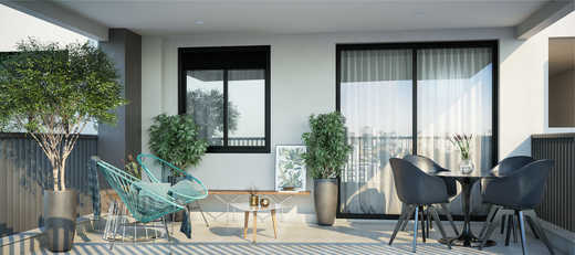 Terraco social - Apartamento 2 quartos à venda Pinheiros, São Paulo - R$ 1.122.000 - II-5052-12585 - 7