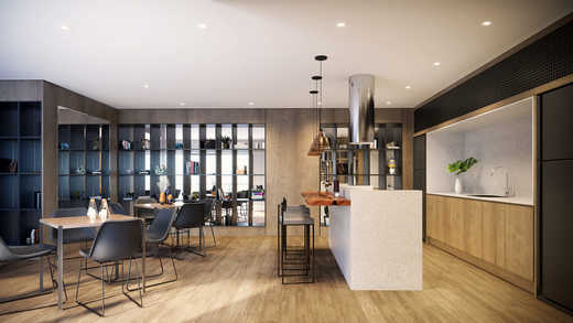 Espaco gourmet - Apartamento 2 quartos à venda Pinheiros, São Paulo - R$ 1.122.000 - II-5052-12585 - 13