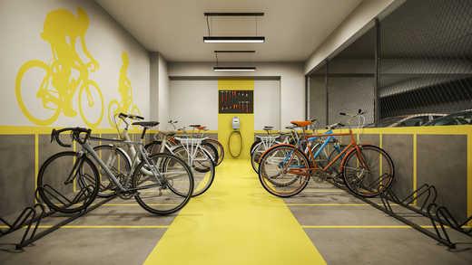 Bicicletario - Apartamento 2 quartos à venda Pinheiros, São Paulo - R$ 1.122.000 - II-5052-12585 - 14