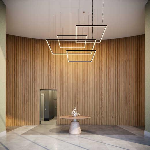 Hall social - Fachada - Expand Pinheiros - 176 - 3