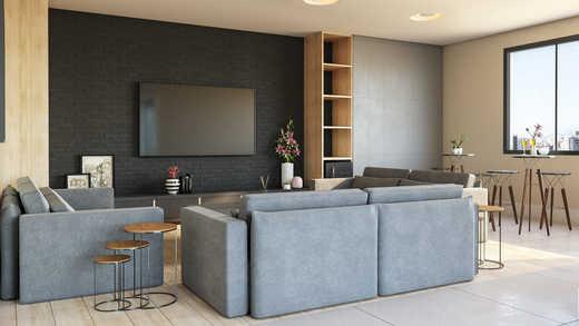 Sala de tv - Apartamento 2 quartos à venda Pinheiros, São Paulo - R$ 1.122.000 - II-5052-12585 - 17