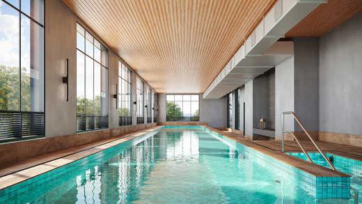 Piscina aquecida - Apartamento 2 quartos à venda Pinheiros, São Paulo - R$ 1.122.000 - II-5052-12585 - 18