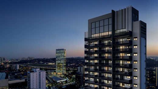 Voo de passaro - Apartamento 2 quartos à venda Pinheiros, São Paulo - R$ 1.122.000 - II-5052-12585 - 23