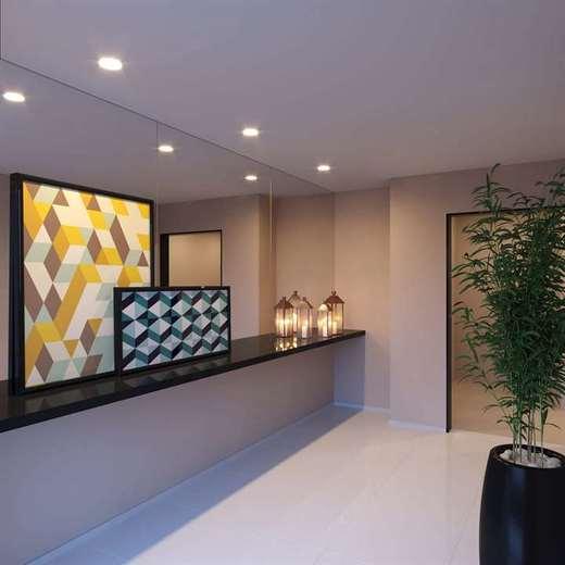 Hall - Fachada - Exato Residencial - 68 - 2