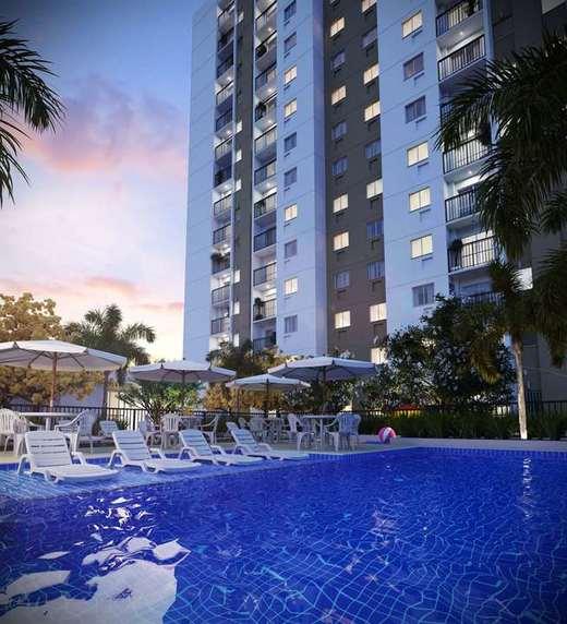 Piscina - Apartamento 1 quarto à venda Rio de Janeiro,RJ - R$ 203.732 - II-5060-12605 - 13