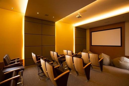 Sala cinema - Fachada - 360° On The Park - 112 - 13