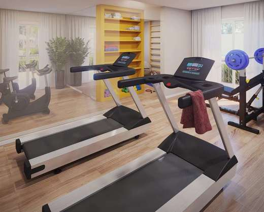 Fitness - Apartamento 1 quarto à venda Rio de Janeiro,RJ - R$ 203.732 - II-5060-12605 - 4