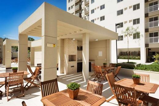 Churrasqueira - Fachada - Rio Parque Carioca Residencial - 1312 - 12