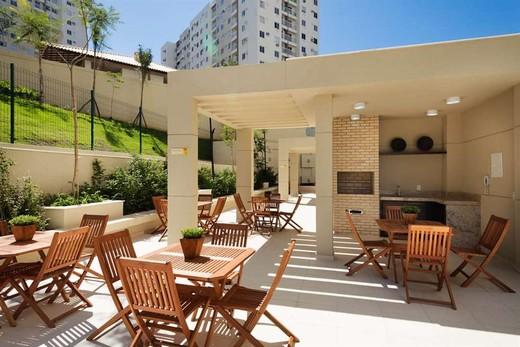 Churrasqueira - Fachada - Rio Parque Carioca Residencial - 1312 - 13