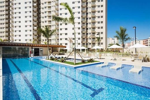 Piscina - Fachada - Rio Parque Carioca Residencial - 1312 - 23