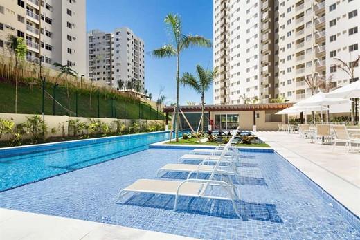 Piscina - Fachada - Rio Parque Carioca Residencial - 1312 - 25