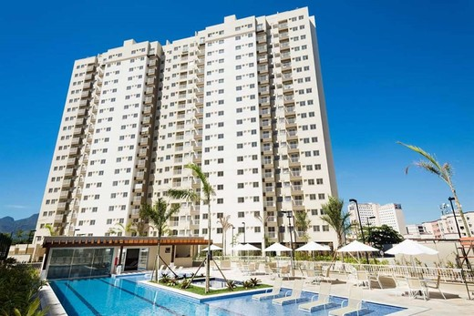 Aerea - Fachada - Rio Parque Carioca Residencial - 1312 - 27