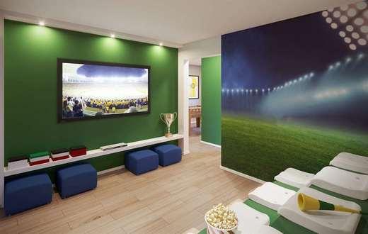 Salao de jogos - Apartamento 1 quarto à venda Rio de Janeiro,RJ - R$ 203.732 - II-5060-12605 - 6