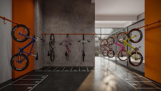 Bicicletario - Fachada - Next Astorga Condomínio Clube - 613 - 12