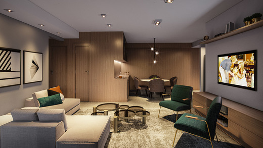 Living - Fachada - Next Astorga Condomínio Clube - 613 - 4