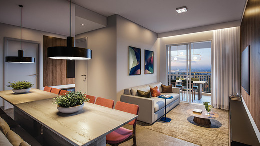 Living - Fachada - Next Astorga Condomínio Clube - 613 - 3