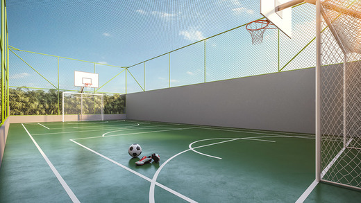 Quadra - Fachada - Next Astorga Condomínio Clube - 613 - 15