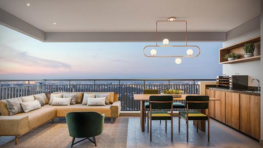 Terraco - Fachada - Next Astorga Condomínio Clube - 613 - 5