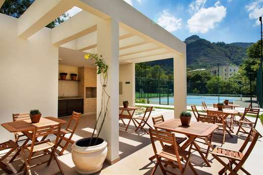 Churrasqueira - Fachada - Verdant Valley Residence - 101 - 17