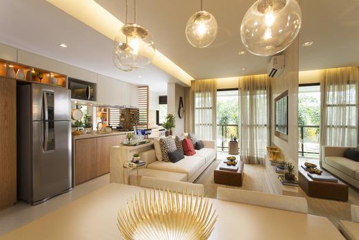 Living - Fachada - RJZ Cyrela Like Residencial Club - 102 - 11