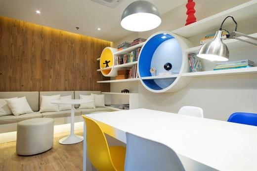 Sala de estudo - Fachada - RJZ Cyrela Like Residencial Club - 102 - 22