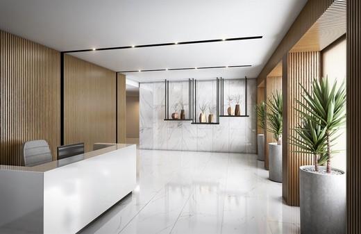 Hall - Apartamento 3 quartos à venda Tijuca, Rio de Janeiro - R$ 873.247 - II-5172-12790 - 3