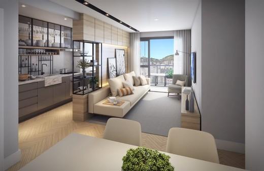 Living - Apartamento 3 quartos à venda Tijuca, Rio de Janeiro - R$ 873.247 - II-5172-12790 - 4