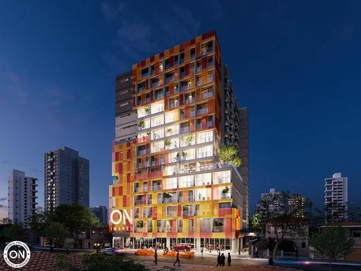 Fachada - Studio à venda Avenida dos Imarés,Moema, São Paulo - R$ 414.802 - II-5177-12805 - 1