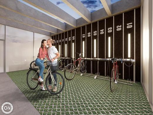 Bicicletario - Studio à venda Avenida dos Imarés,Moema, São Paulo - R$ 414.802 - II-5177-12805 - 10