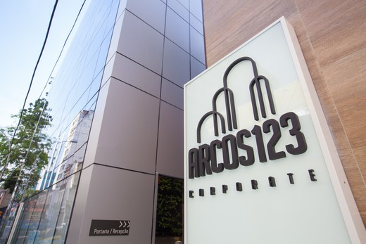 Portaria - Fachada - Arcos 123 Corporate - 1285 - 4