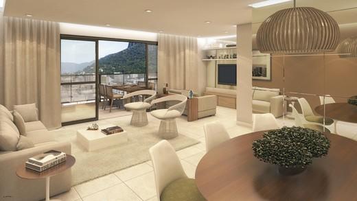 Living - Apartamento 4 quartos à venda Botafogo, Rio de Janeiro - R$ 1.675.000 - II-5192-12838 - 7