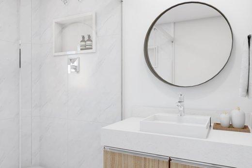 Banheiro - Apartamento à venda Rua Leão Coroado,Vila Madalena, Zona Oeste,São Paulo - R$ 2.800.000 - II-5245-12969 - 3