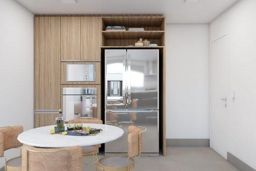 Cozinha - Apartamento à venda Rua Leão Coroado,Vila Madalena, Zona Oeste,São Paulo - R$ 2.800.000 - II-5245-12969 - 5