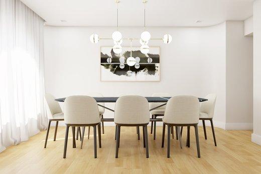 Living - Apartamento à venda Rua Leão Coroado,Vila Madalena, Zona Oeste,São Paulo - R$ 2.800.000 - II-5245-12969 - 6