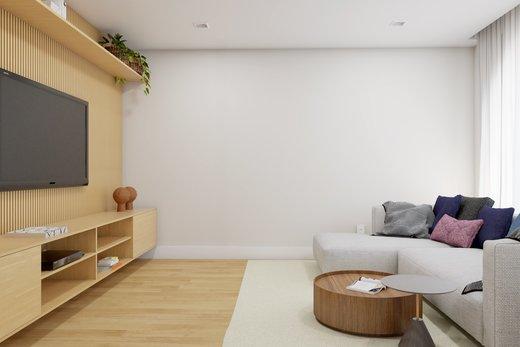Living - Apartamento à venda Rua Leão Coroado,Vila Madalena, Zona Oeste,São Paulo - R$ 2.800.000 - II-5245-12969 - 8