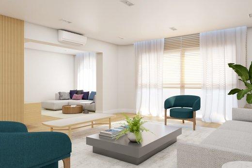 Living - Apartamento à venda Rua Leão Coroado,Vila Madalena, Zona Oeste,São Paulo - R$ 2.800.000 - II-5245-12969 - 9