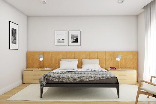 Quarto principal - Apartamento à venda Rua Leão Coroado,Vila Madalena, Zona Oeste,São Paulo - R$ 2.800.000 - II-5245-12969 - 10