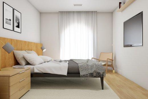 Quarto principal - Apartamento à venda Rua Leão Coroado,Vila Madalena, Zona Oeste,São Paulo - R$ 2.800.000 - II-5245-12969 - 11