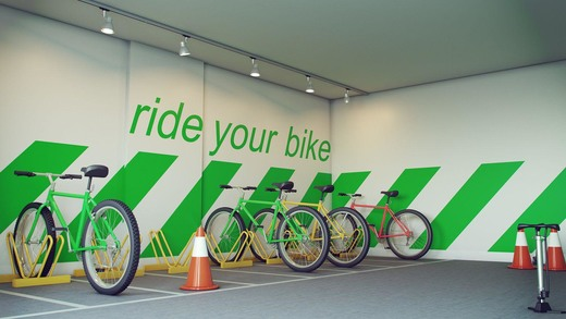 Bicicletario - Fachada - Norte Premium - 1290 - 14