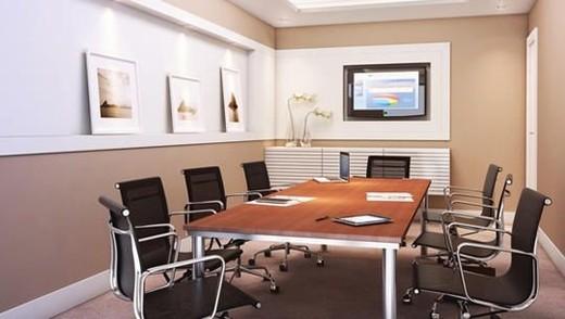 Interior sala - Fachada - Punto Offices - Lojas - 1291 - 6