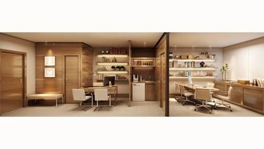 Interior sala - Fachada - Punto Offices - Lojas - 1291 - 11