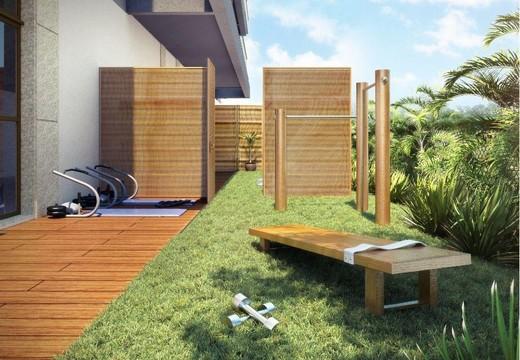 Espaco fitness externo - Fachada - Damai Residences & Lifestyle - 293 - 25
