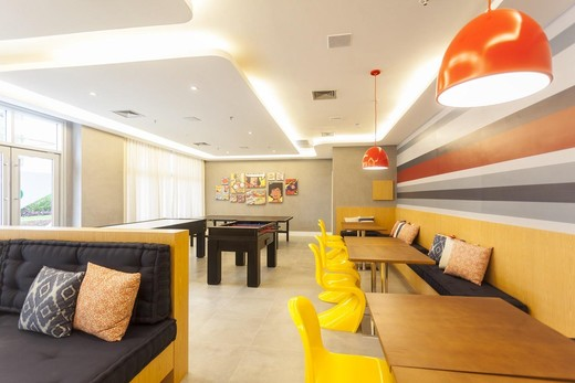 Salao de jogos - Fachada - Soho Residence - Lojas - 43 - 7