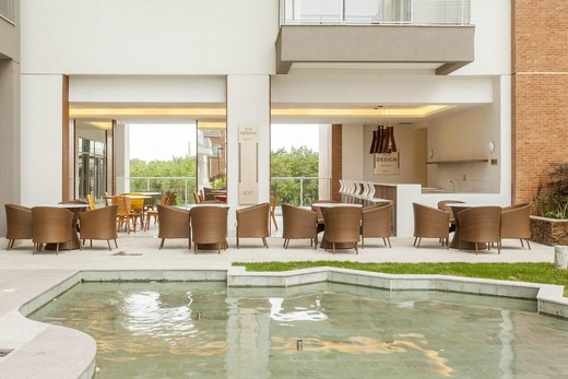 Piscina - Fachada - Soho Residence - Lojas - 43 - 17