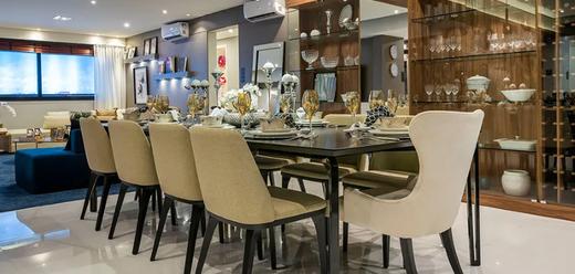 Living - Apartamento 3 quartos à venda Moema, São Paulo - R$ 2.996.255 - II-5257-12985 - 5