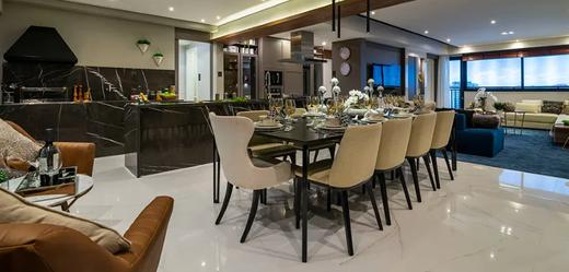 Living - Apartamento 3 quartos à venda Moema, São Paulo - R$ 2.996.255 - II-5257-12985 - 6