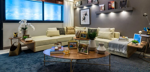 Living - Apartamento 3 quartos à venda Moema, São Paulo - R$ 2.996.255 - II-5257-12985 - 7
