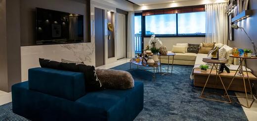 Living - Apartamento 3 quartos à venda Moema, São Paulo - R$ 2.996.255 - II-5257-12985 - 8