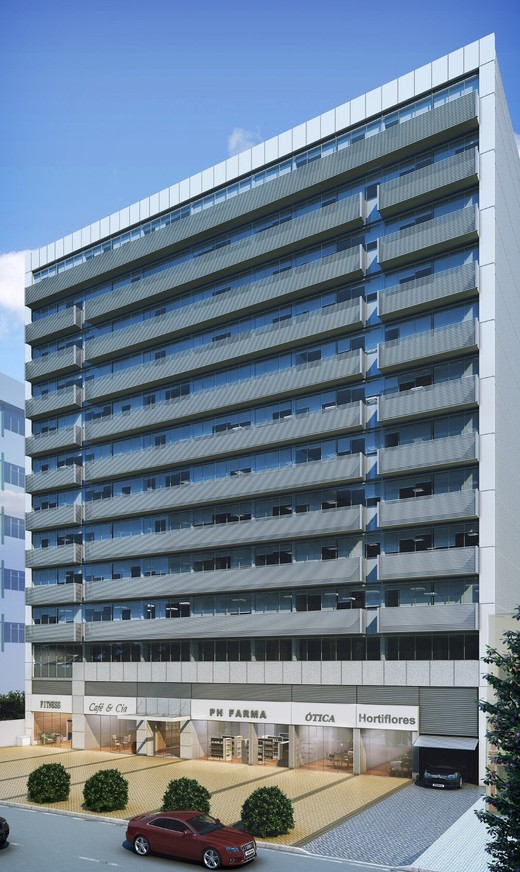 Fachada - Fachada - Haddock Business - Lojas - 1306 - 1